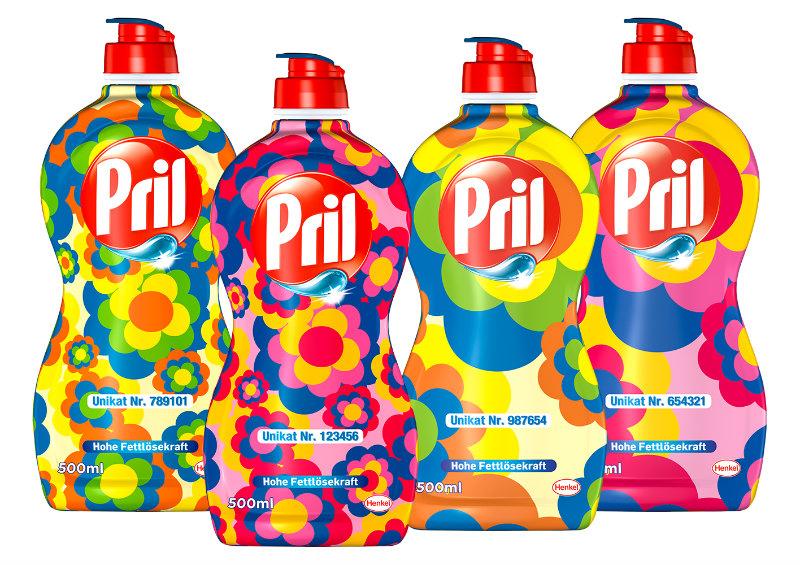 Folienprint RAKO Produces Limited Edition Pril Flower Labels