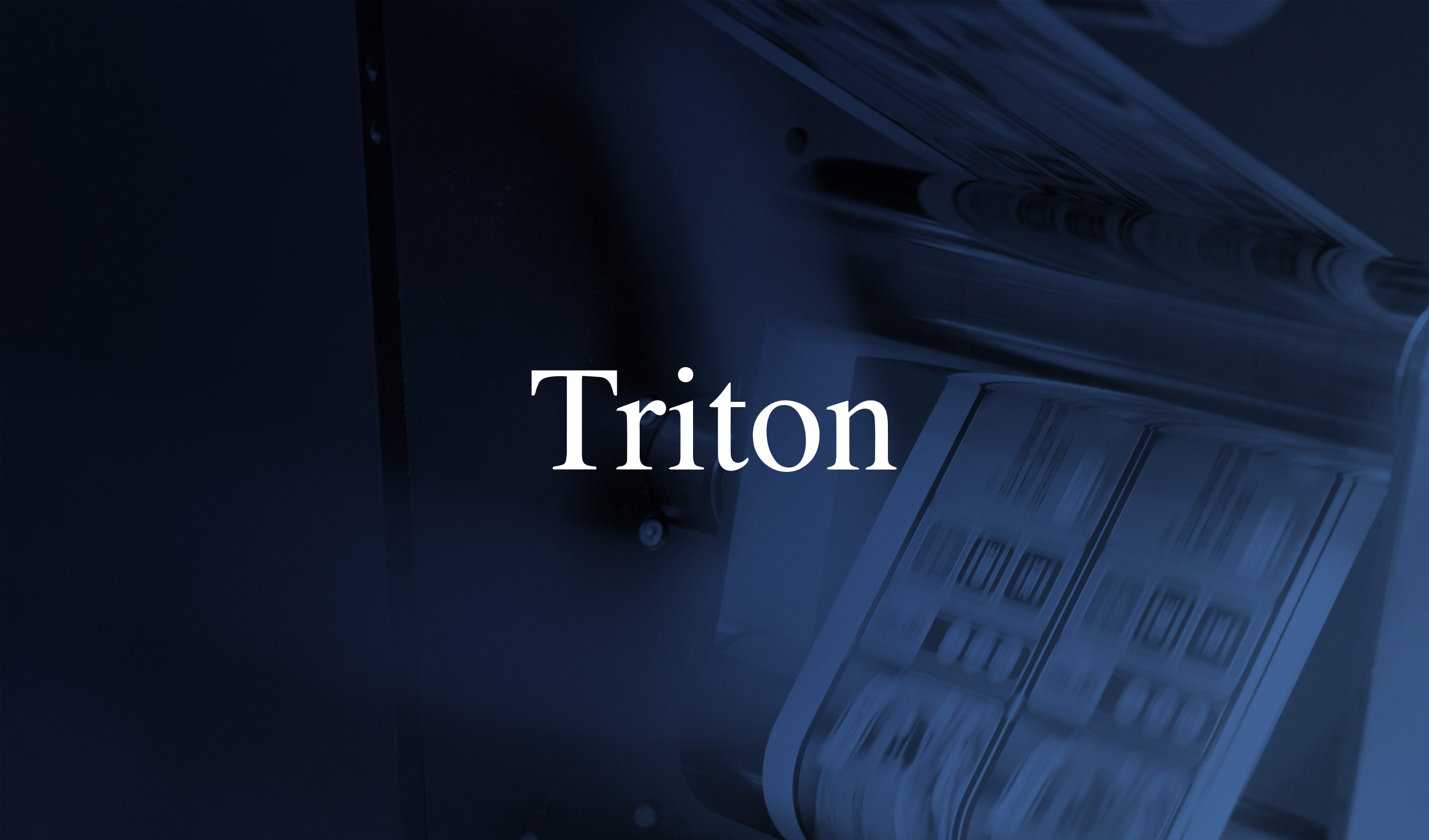 Triton invests in All4Labels together with current Management