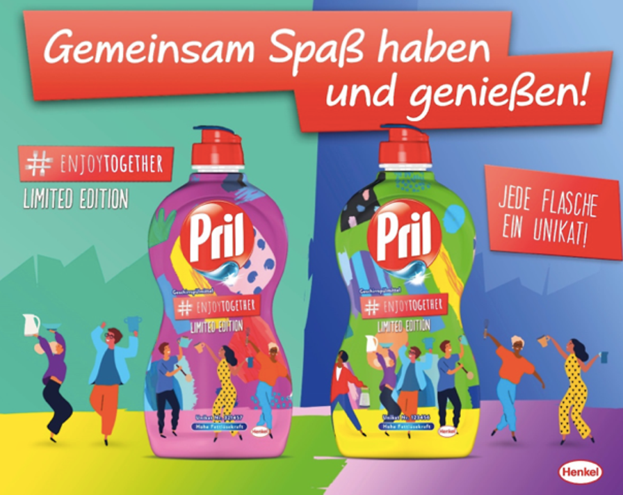 Henkel has launched the new Pril limited edition